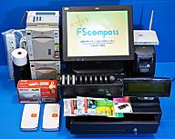 中古 東芝TEC FScompass QT-10と100シリーズ(周辺機器)セット