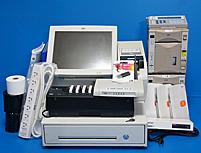 【中古】東芝テック 東芝TEC WILLPOS-Mini ST-70 飲食店用 V10ポスレジセット