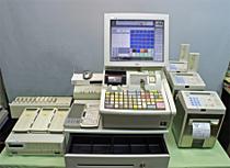 【中古】東芝テックFS-97(レジ)と90シリーズ(周辺機器)セット
